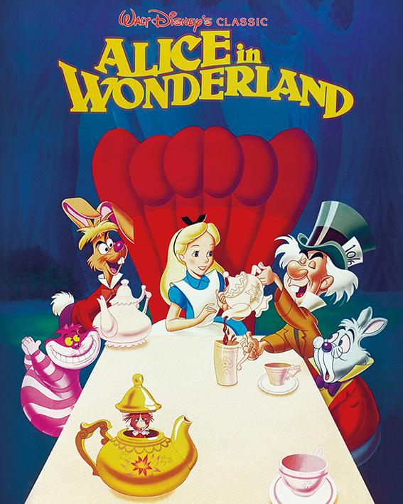 Alice In Wonderland (1989) Canvas Print