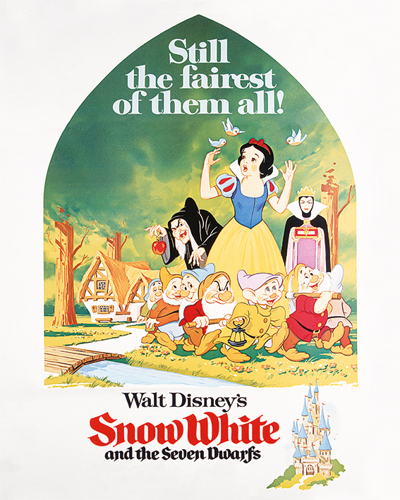 Snow White (Still The Fairest) Canvas Print