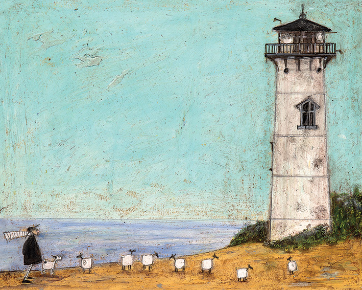 Sam Toft (Seven Sisters And A Lighthouse) Canvas Print