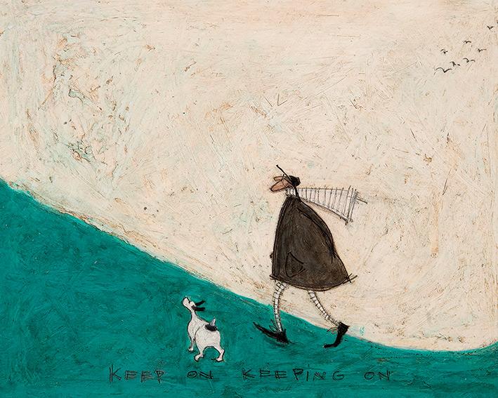 Sam Toft (Keep On Keeping On) Canvas Print