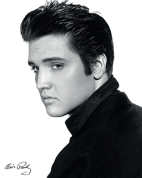 Elvis (Portrait) Canvas Print