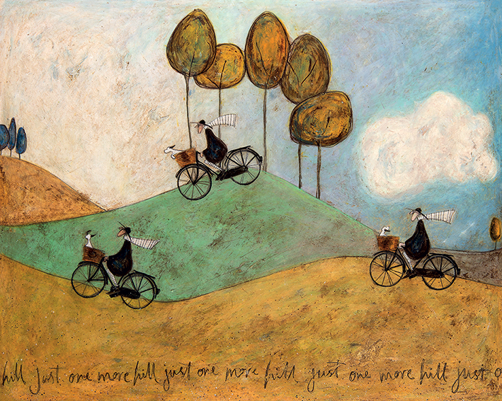 Sam Toft (Just One More Hill) Canvas Print