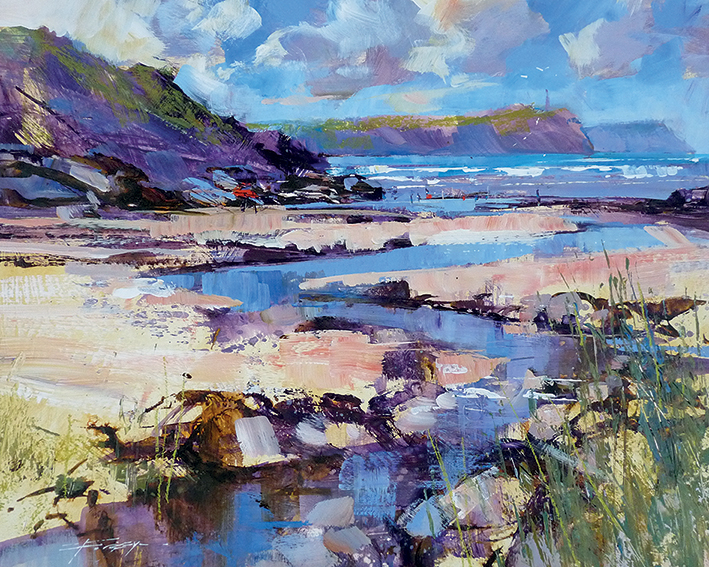 Chris Forsey (May Sunshine, Polzeath) Canvas Prints