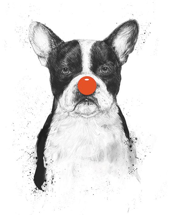 Balazs Solti (I'm Not Your Clown) Canvas Prints
