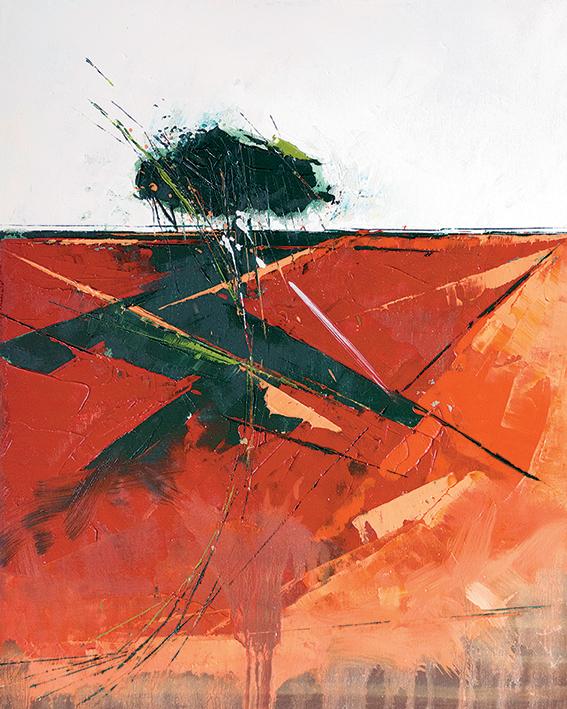 Simon Howden (Bracken Shadow) Canvas Prints