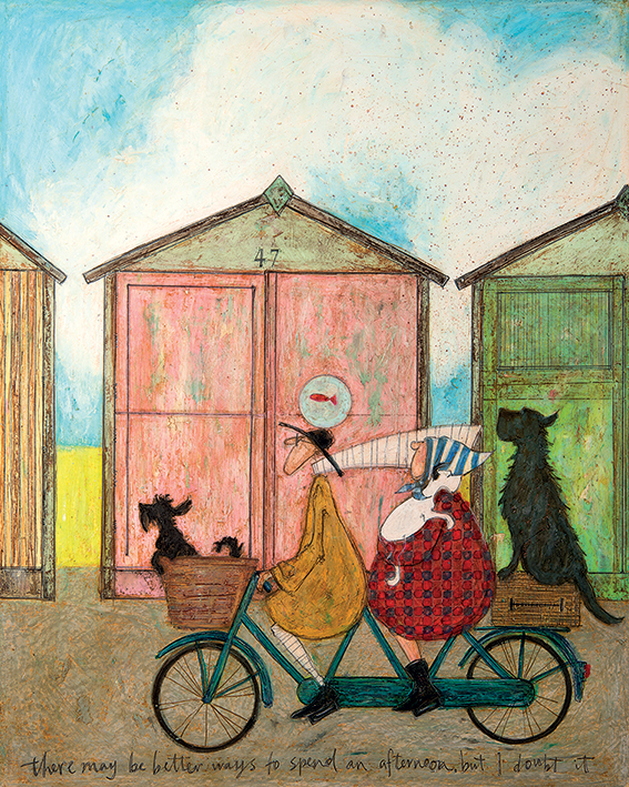 Sam Toft (There may be Better Ways to Spend an Afternoon but I Doubt it) Canvas Prints