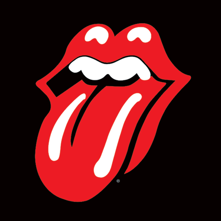 Rolling Stones (Lips) Canvas