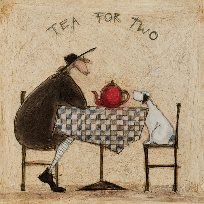 Sam Toft (Tea for Two) Canvas Print