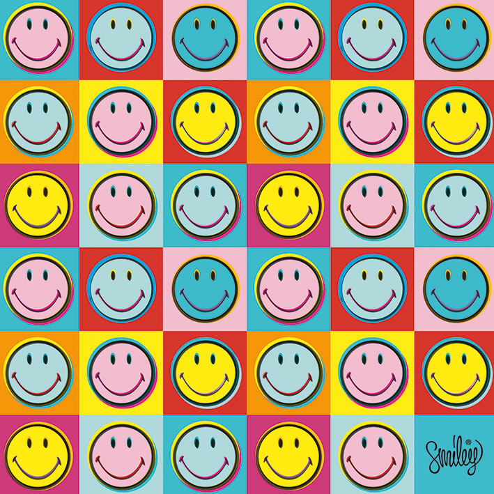 Smiley (Pop Art) Canvas Print