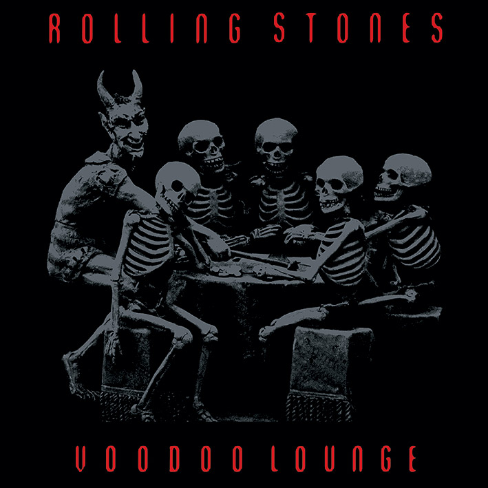 Rolling Stones (Voodoo Lounge) Canvas Prints