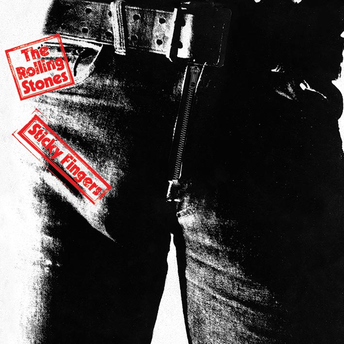 Rolling Stones (Sticky Fingers) Canvas Prints