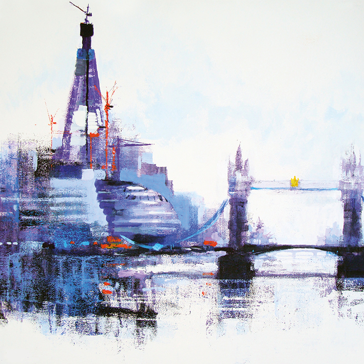 Colin Ruffell (Shard Left) Canvas Prints