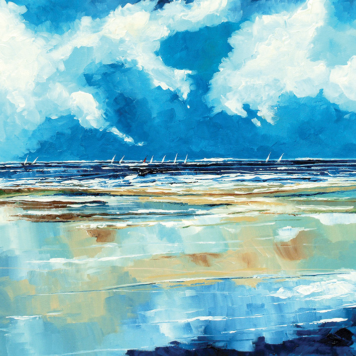 Stuart Roy (Seascape II) Canvas Prints