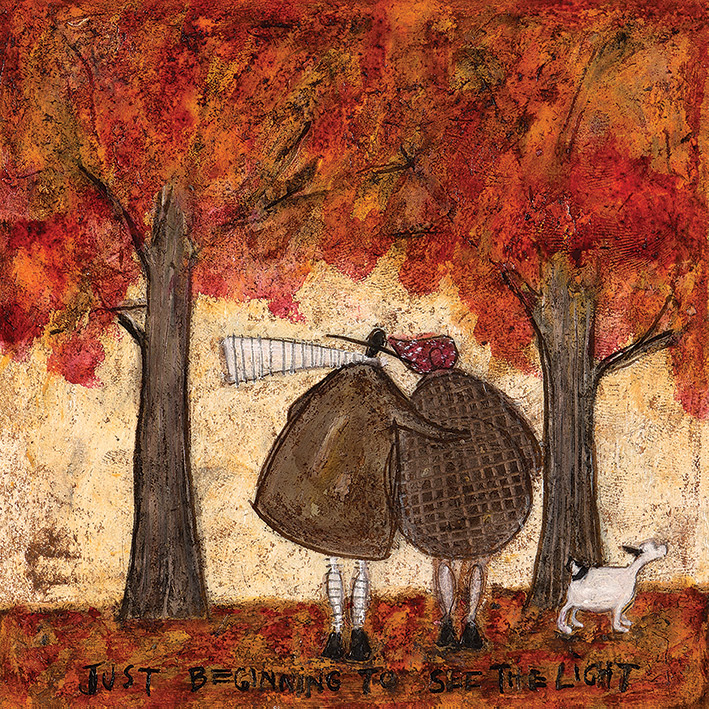 Sam Toft (Just Beginning To See The Light) Canvas Prints