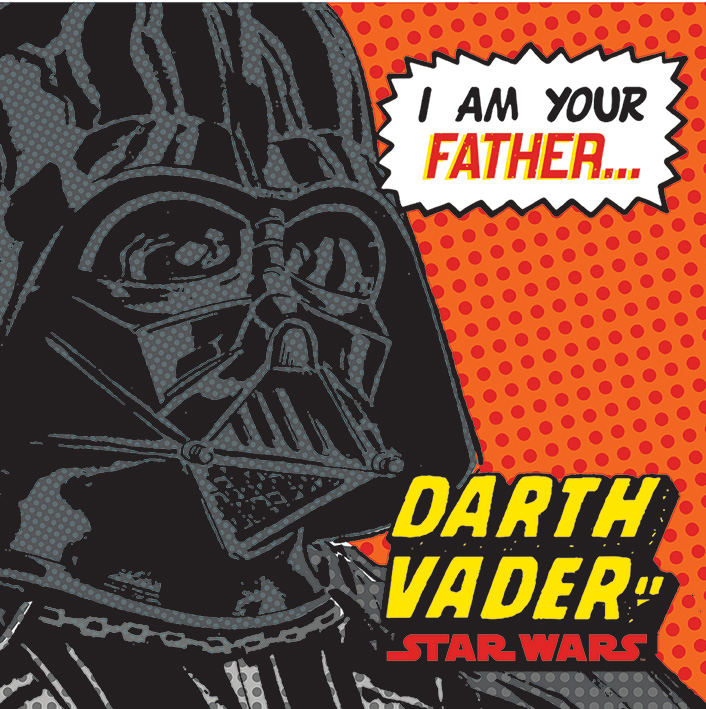 Star Wars (I Am Your Father) Canvas Print