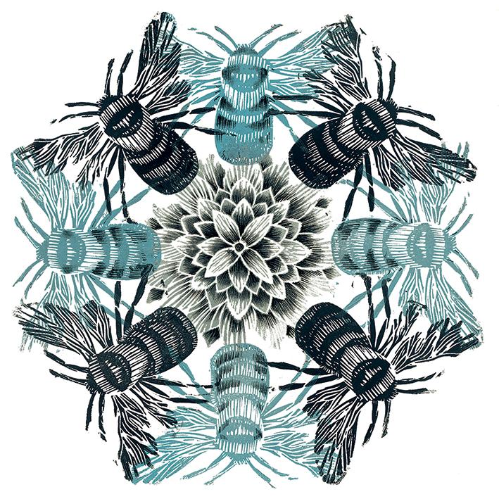 Amanda Colville (Circle of Bees) Canvas Print