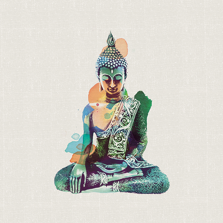 Summer Thornton (Jade Buddha) Canvas Prints