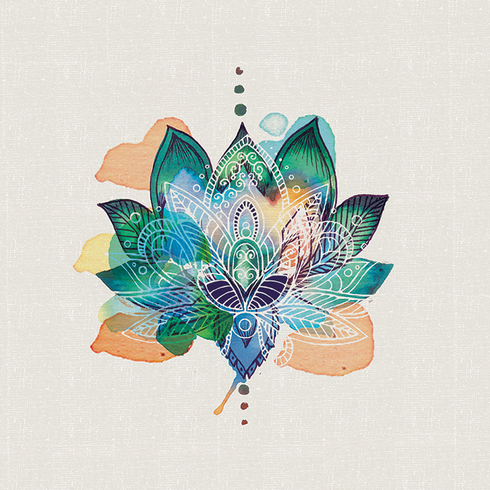 Summer Thornton (Lotus Flower) Canvas Prints