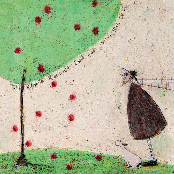 Sam Toft (The Apple Doesn't Fall Far From The Tree) Canvas Prints