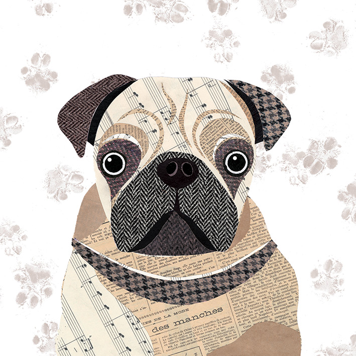 Simon Hart (Pug) Canvas Prints