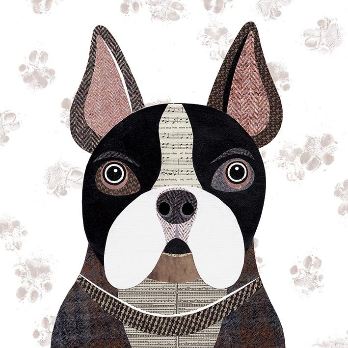 Simon Hart (French Bulldog) Canvas Print
