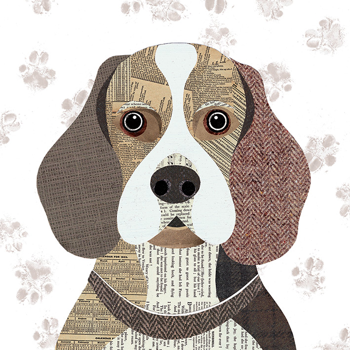 Simon Hart (Beagle) Canvas Prints