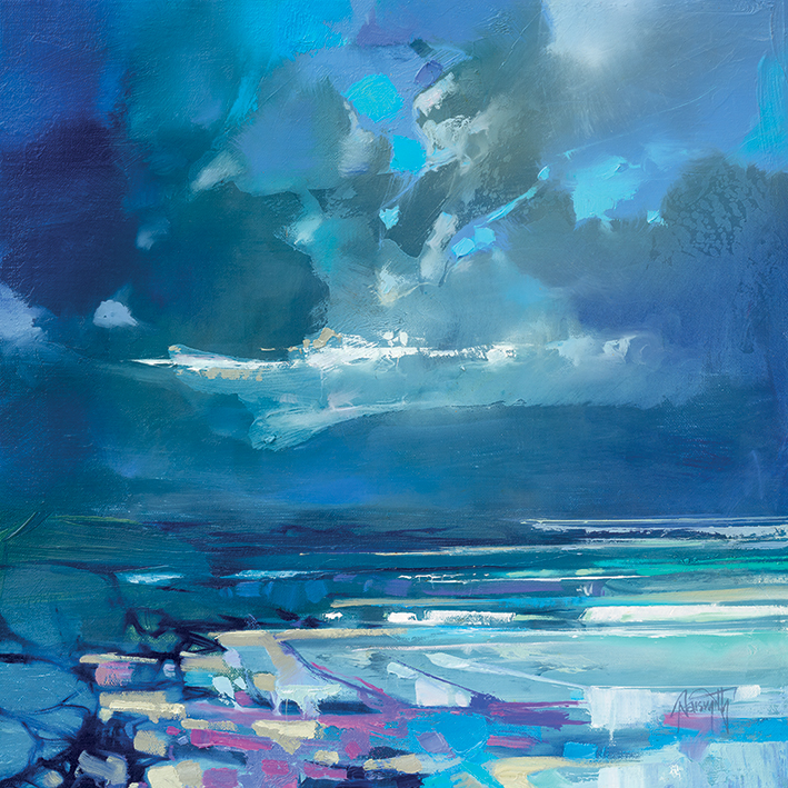 Scott Naismith (West Coast Blues I) Canvas Prints