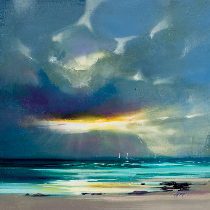 Scott Naismith (West Coast Blues II) Canvas Prints