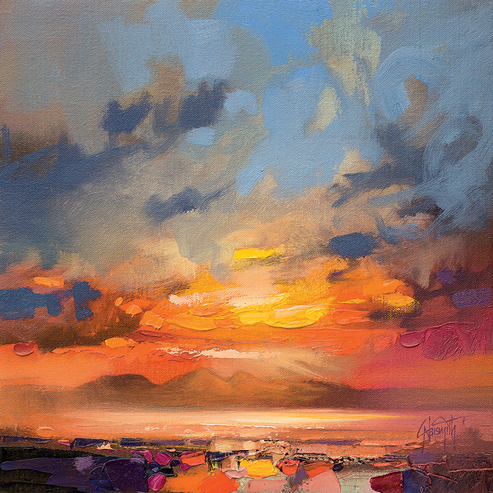 Scott Naismith (Rum Light Study) Canvas Prints