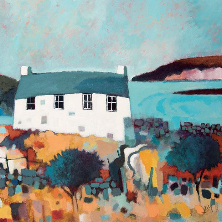 Derek Melville (Headland View) Canvas Prints