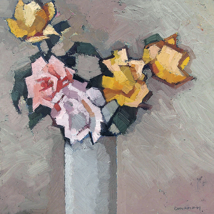 Paul Donaghy (Mixed Roses) Canvas Prints