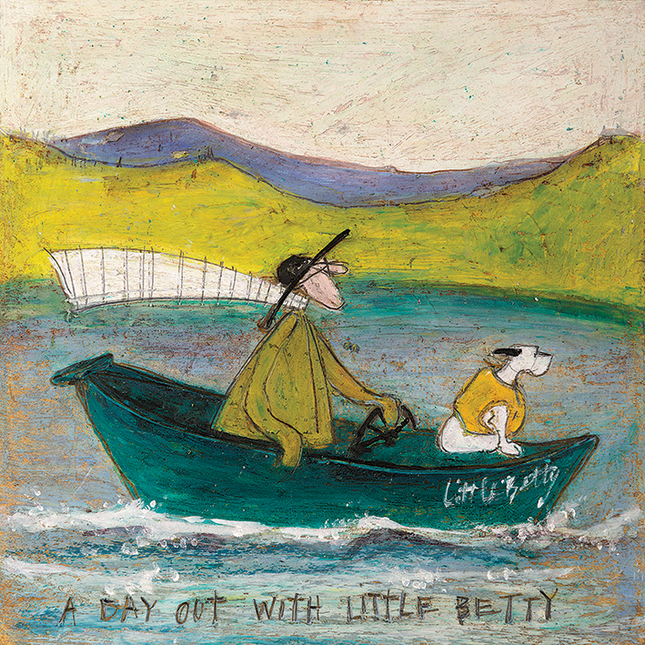 Sam Toft (A Day out with Little Betty) Canvas Prints