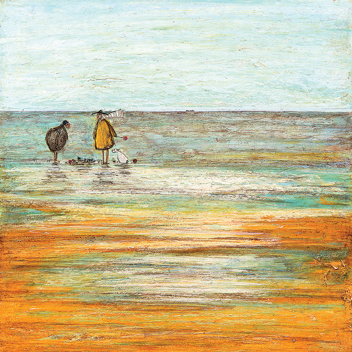 Sam Toft (Sandcastle Progress Report) Canvas Prints