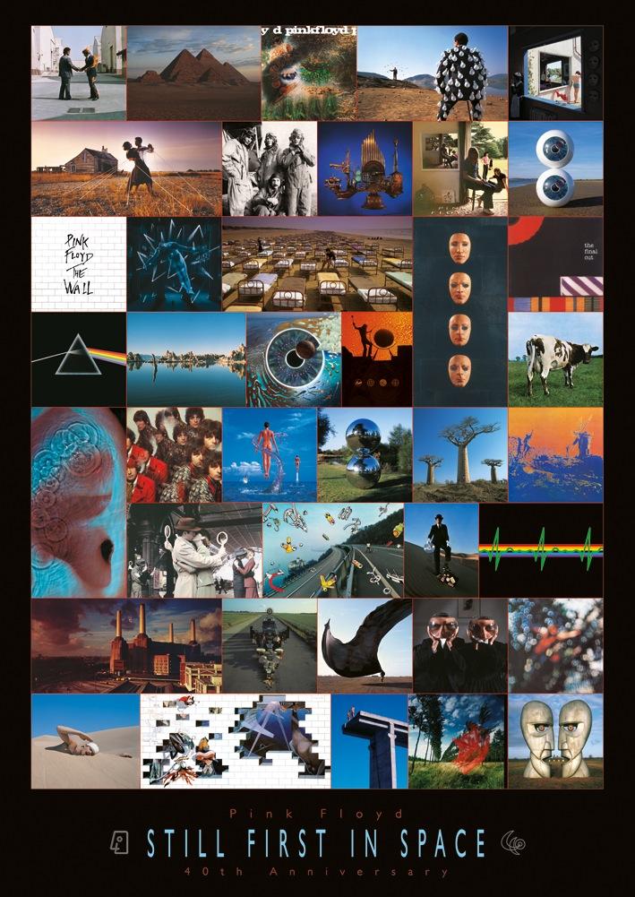 Pink Floyd (Anniversary) Canvas Prints