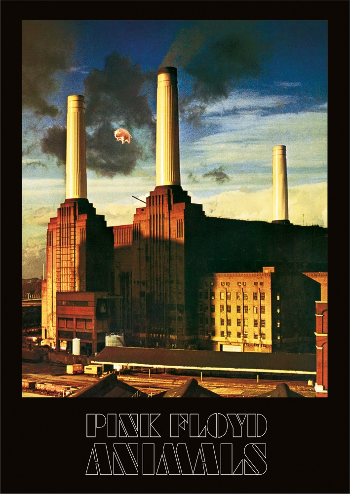 Pink Floyd (Animals) Canvas Print