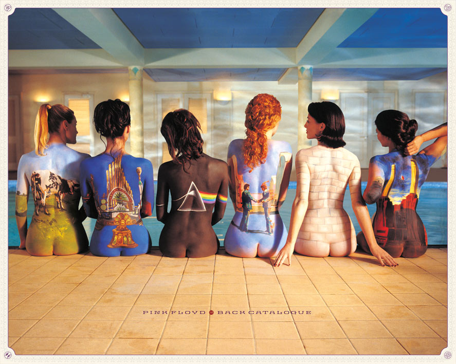 Pink Floyd (Back Catalogue) Canvas Prints