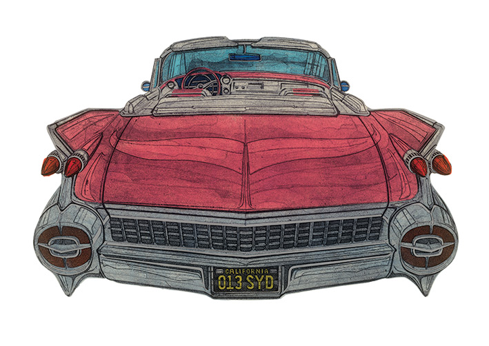 Barry Goodman (8 MPG) Canvas Prints