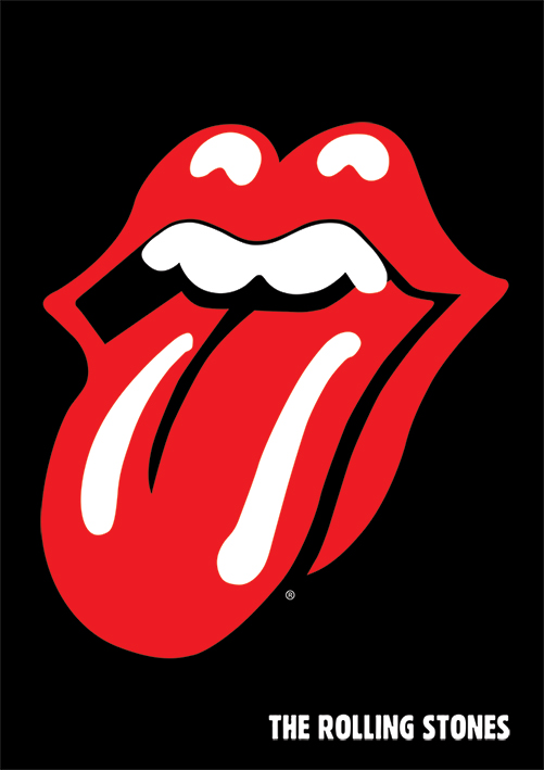Rolling Stones (Lips) Canvas Print