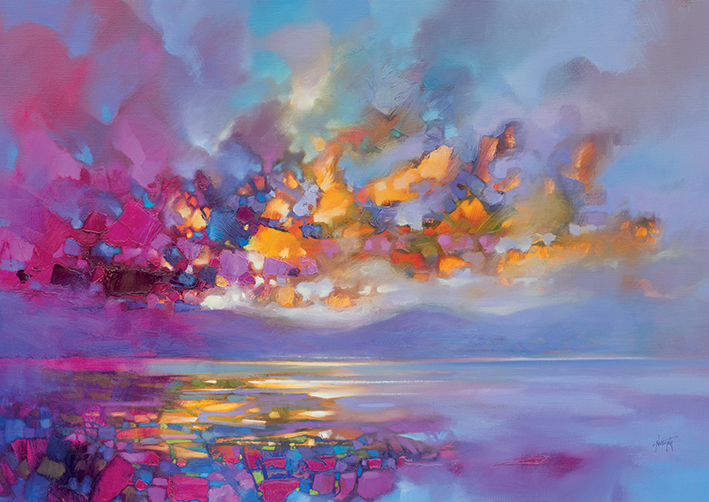 Scott Naismith (Magenta Refraction) Canvas Print