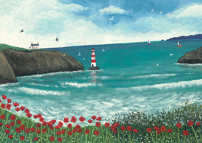 Jo Grundy (The Lighthouse at Poppy Bay) Canvas Prints