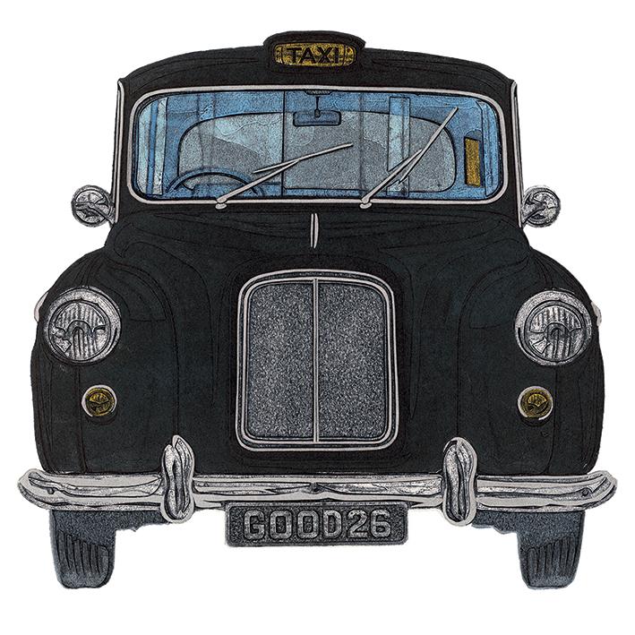 Barry Goodman (Taxi) Canvas Prints