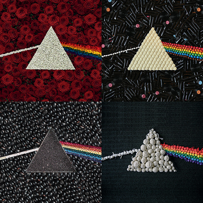 Pink Floyd (Dark Side Of The Moon - Collections) Canvas Prints