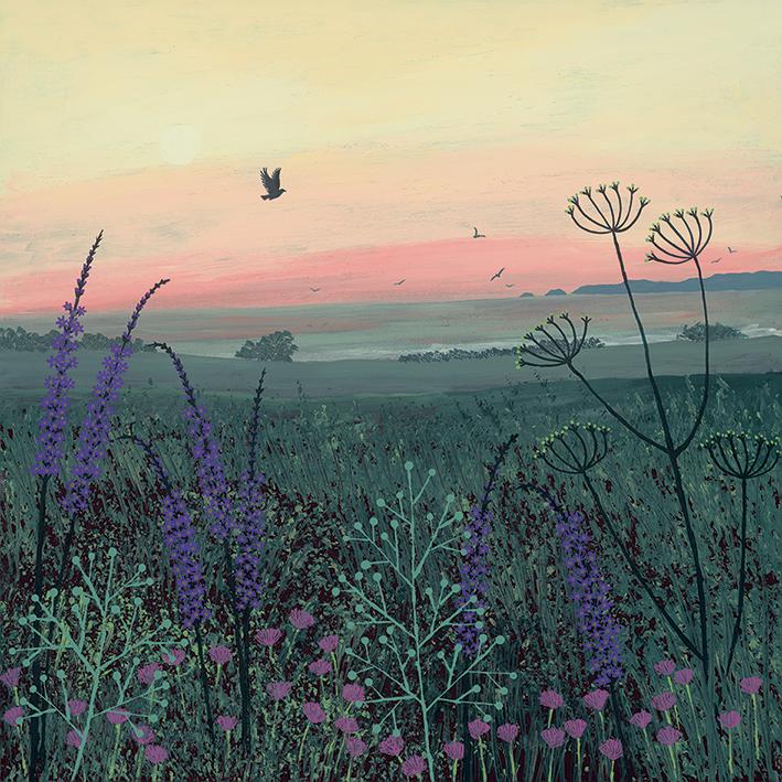 Jo Grundy (Coastal Dawn) Canvas Prints