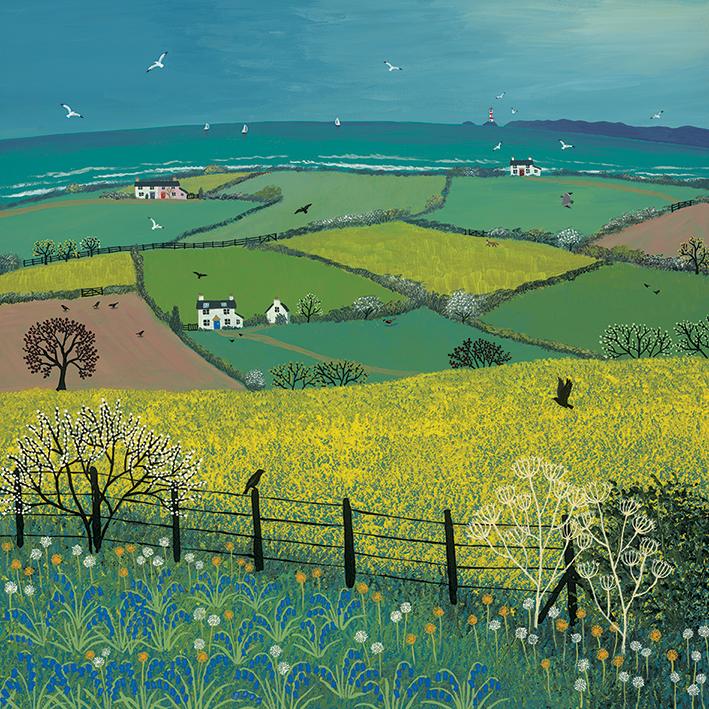 Jo Grundy (Coastal View) Canvas Prints