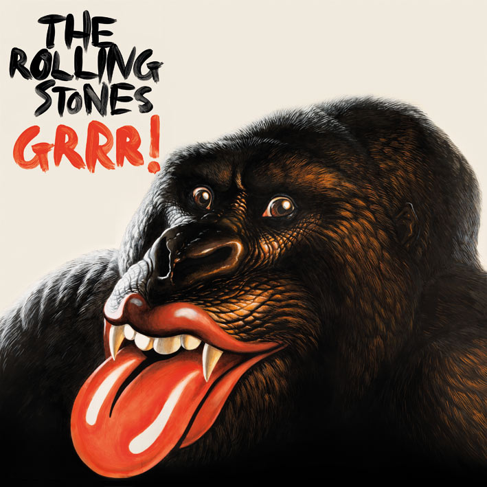 Rolling Stones (Grr!) Canvas Print