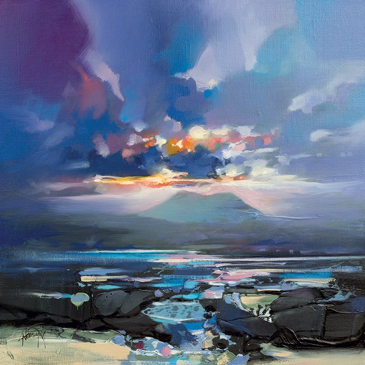 Scott Naismith (West Coast Blues III) Canvas Prints
