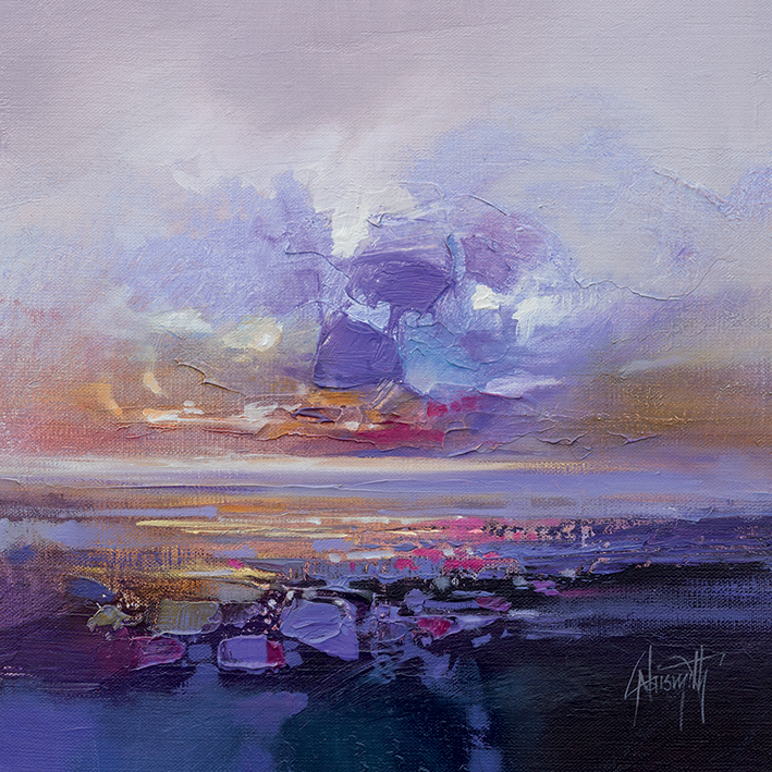 Scott Naismith (Colour Collision Study) Canvas Prints