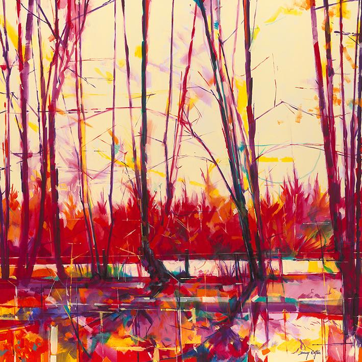 Doug Eaton (Old Hedgerow) Canvas Print
