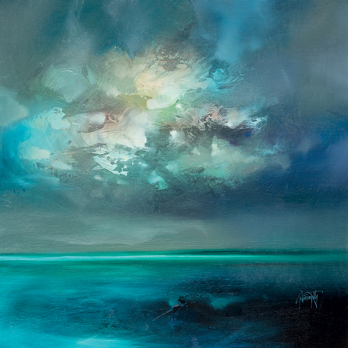Scott Naismith (Isle of Skye Emerges) Canvas Prints