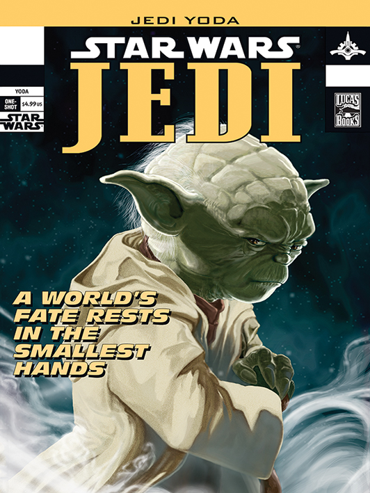 Star Wars (Yoda Comic Cover) Canvas Print